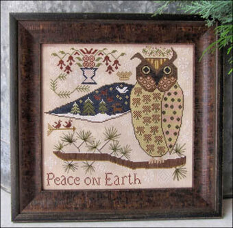Kathy Barrick Peace On Earth Cross Stitch Pattern