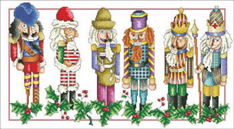 Christmas Friends - Cross Stitch Pattern