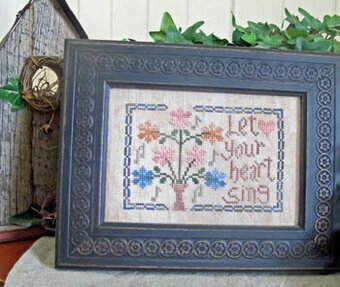 Let Your Heart Sing - Cross Stitch Pattern