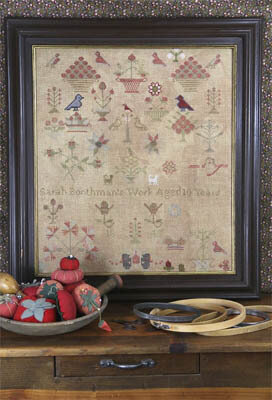 Sarah Boothman 1845 - Cross Stitch Pattern