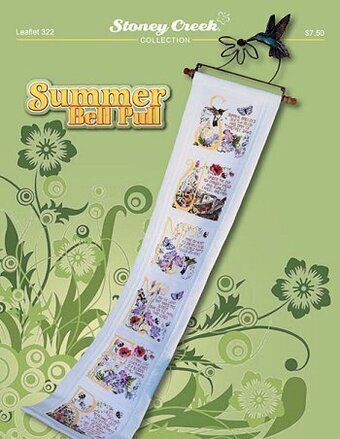 Summer Bell Pull - Cross Stitch Pattern