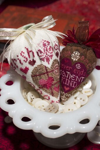 Sweetberry - LINEN Berry Collection - Cross Stitch Pattern