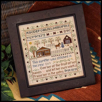 Homestead Sampler - Cross Stitch Pattern