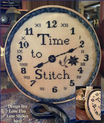 Time to Stitch - Cross Stitch Pattern