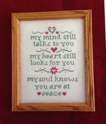 Love is Always Present - Cross Stitch Pattern