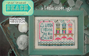 Little Cottage, A - To The Beach #2 - Cross Stitch Pattern