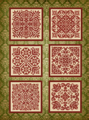 Old Fashioned Ornaments - Cross Stitch Pattern