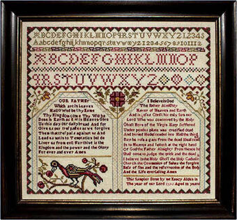 Nancy Alden 1795 - Cross Stitch Pattern