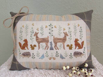 Woodland Wonders - Cross Stitch Pattern