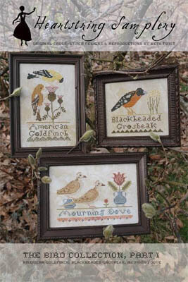 Bird Collection, The - Part 1 - Cross Stitch Pattern