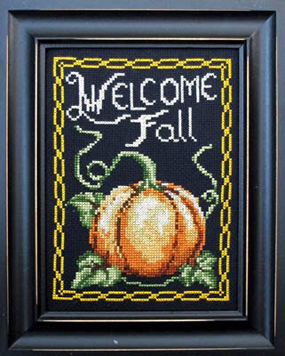 Welcome Fall - Cross Stitch Pattern