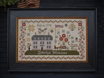 Liberty's  Welcome - Cross Stitch Pattern