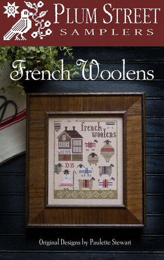 French Woolens - Cross Stitch Pattern