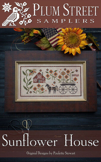 Sunflower House - Cross Stitch Pattern
