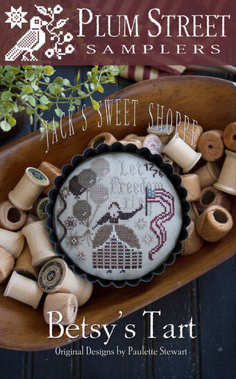 Betsy's Tart - Cross Stitch Pattern