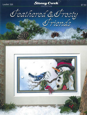 Feathered & Frosty Friends - Cross Stitch Pattern