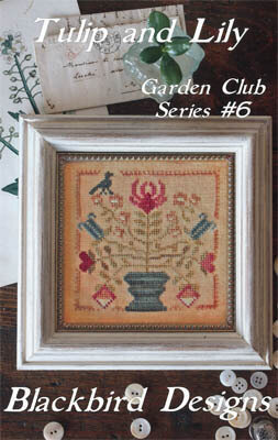 Tulip & Lily - Garden Club #6 - Cross Stitch Pattern