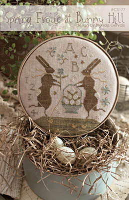 Spring Frolic at Bunny Hill - Cross Stitch Pattern