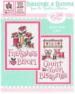 Blessings & Blooms - Cross Stitch Pattern