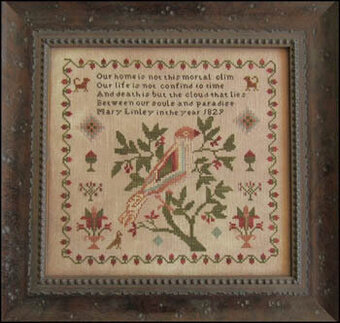 Mary Linley 1829 - Cross Stitch Pattern