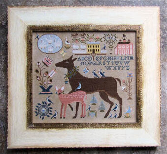 Dearie and Darling - Cross Stitch Pattern