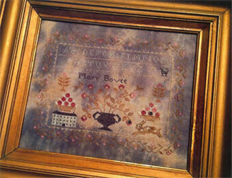 Mary Bovee Sampler - Cross Stitch Pattern
