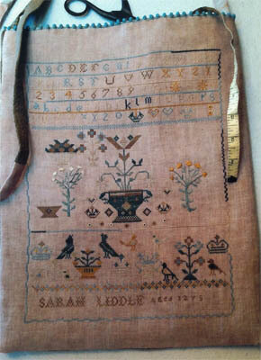 Sarah Liddle Sampler Bag - Cross Stitch Pattern