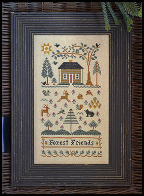 Forest Friends - Cross Stitch Pattern