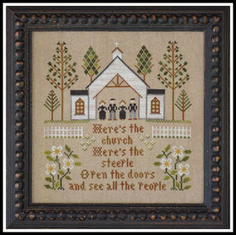 Here's the Church - Cross Stitch Pattern