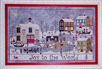 Churchyard Christmas, A - Cross Stitch Pattern