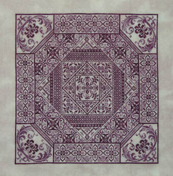 Shades of Plum - Cross Stitch Pattern