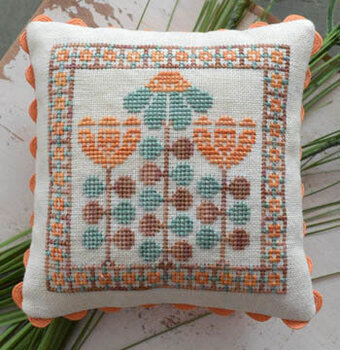 Mid Century Gardens Part 2 - Cross Stitch Pattern