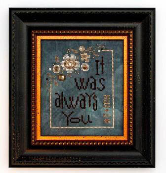 Always You (w/embellishments) - Wee - Cross Stitch Pattern