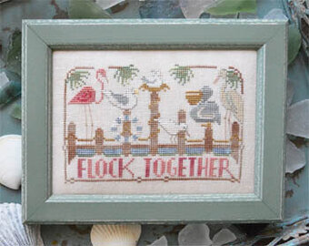 Flock Together - To the Beach 3 - Cross Stitch Pattern