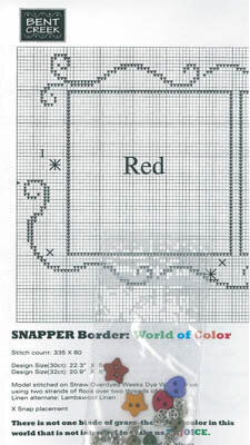 World of Color - Border Pack - Cross Stitch Pattern