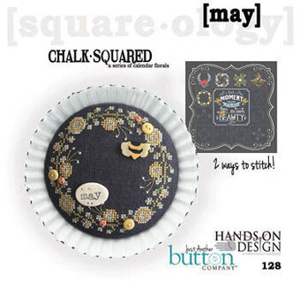 Chalk Squared - May - Cross Stitch Pattern