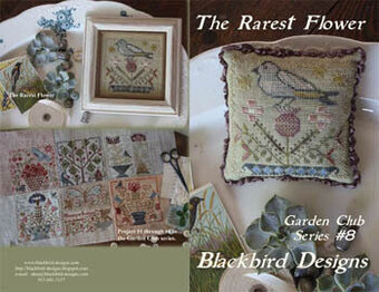 The Rarest Flower - Garden Club #8 - Cross Stitch Pattern