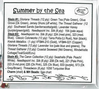 Summer By The Sea Embellishment Pack