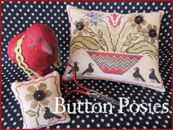 Button Posies - Cross Stitch Pattern