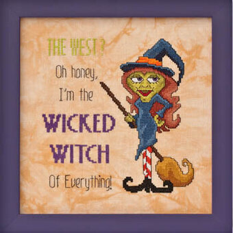 Wicked Witch of Everything - Cross Stitch Pattern