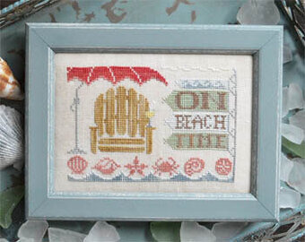 On Beach Time - To the Beach #5 - Cross Stitch Pattern