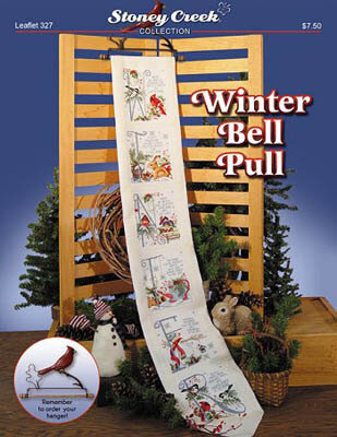 Winter Bell Pull - Cross Stitch Pattern