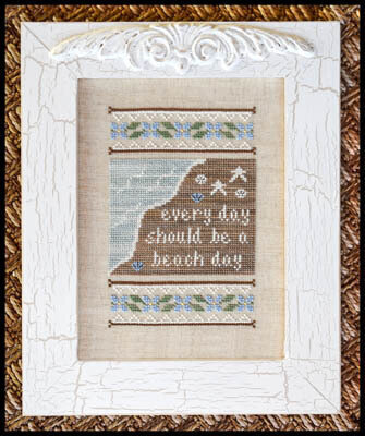 Beach Day - Cross Stitch Pattern