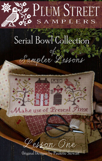 Sampler Lesson One - Cross Stitch Pattern