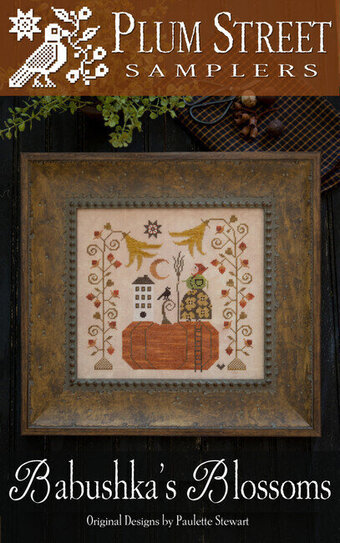 Babushka's Blossoms - Cross Stitch Pattern