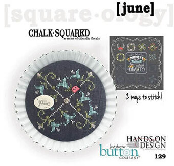 Chalk Squared - June - Cross Stitch Pattern