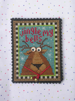 Jingle My Bells - Cross Stitch Kit