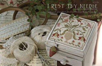 I Rest Thy Needle - Cross Stitch Pattern