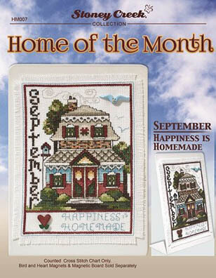 Home of the Month - September - Cross Stitch Pattern