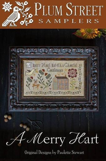 Merry Hart, A - Cross Stitch Pattern